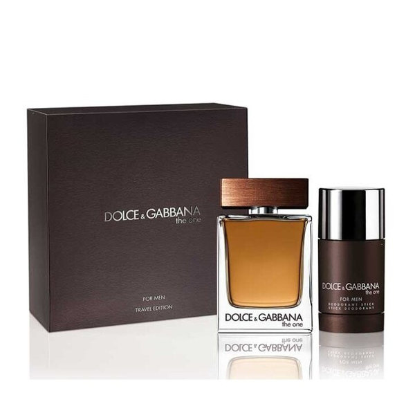 Dolce & Gabbana The One for Men Set 100ml eau de toilette spray + 70 gr Deodorant stick