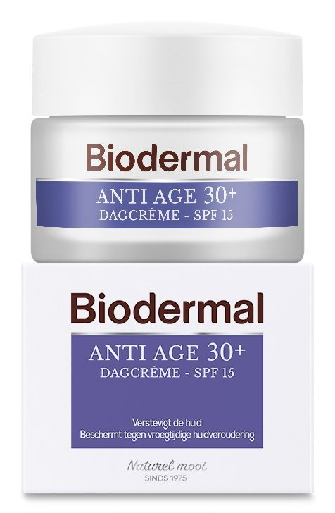 Biodermal Dagcrème anti age 30+  inhoud: 50 ml